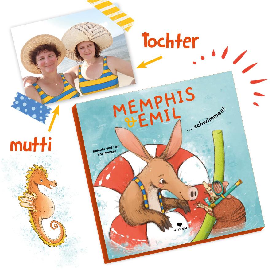 Memphis & Emil – schwimmen!