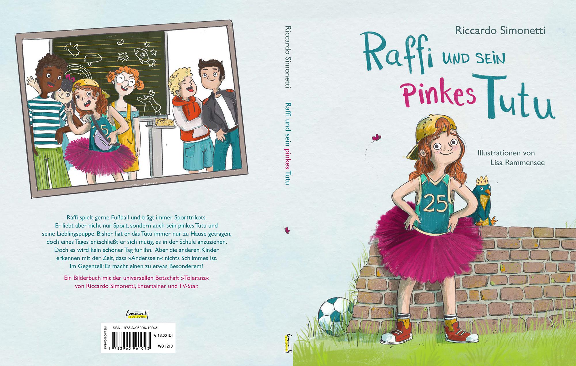 Cover Riccardo Simonetti Raffi und sein pinkes Tutu