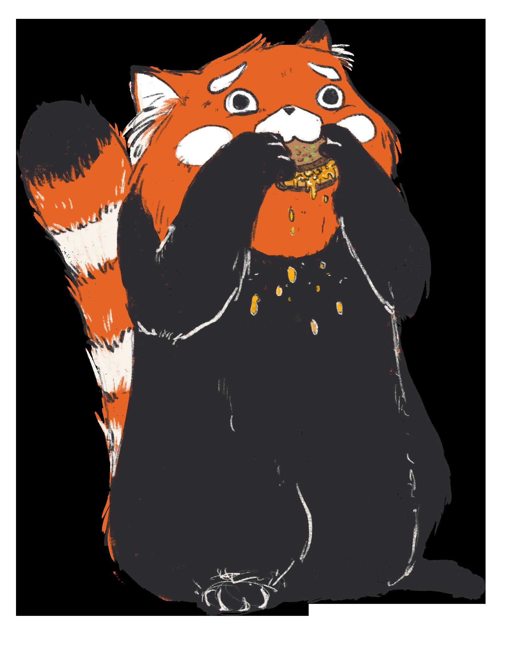 Sandwich-Panda